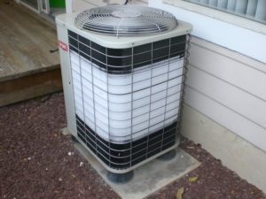 Air Conditioning Troubleshooting- Frozen Condensor