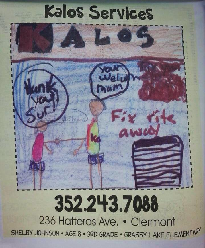 It's Elementary at Kalos Services, Inc. – 352-243-7088