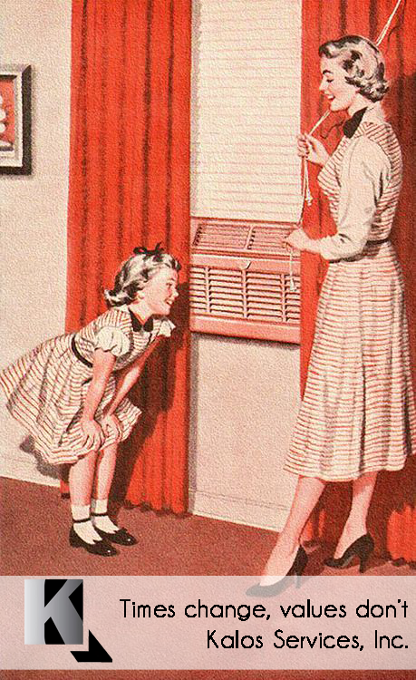 Old Air Conditioning Advertisements