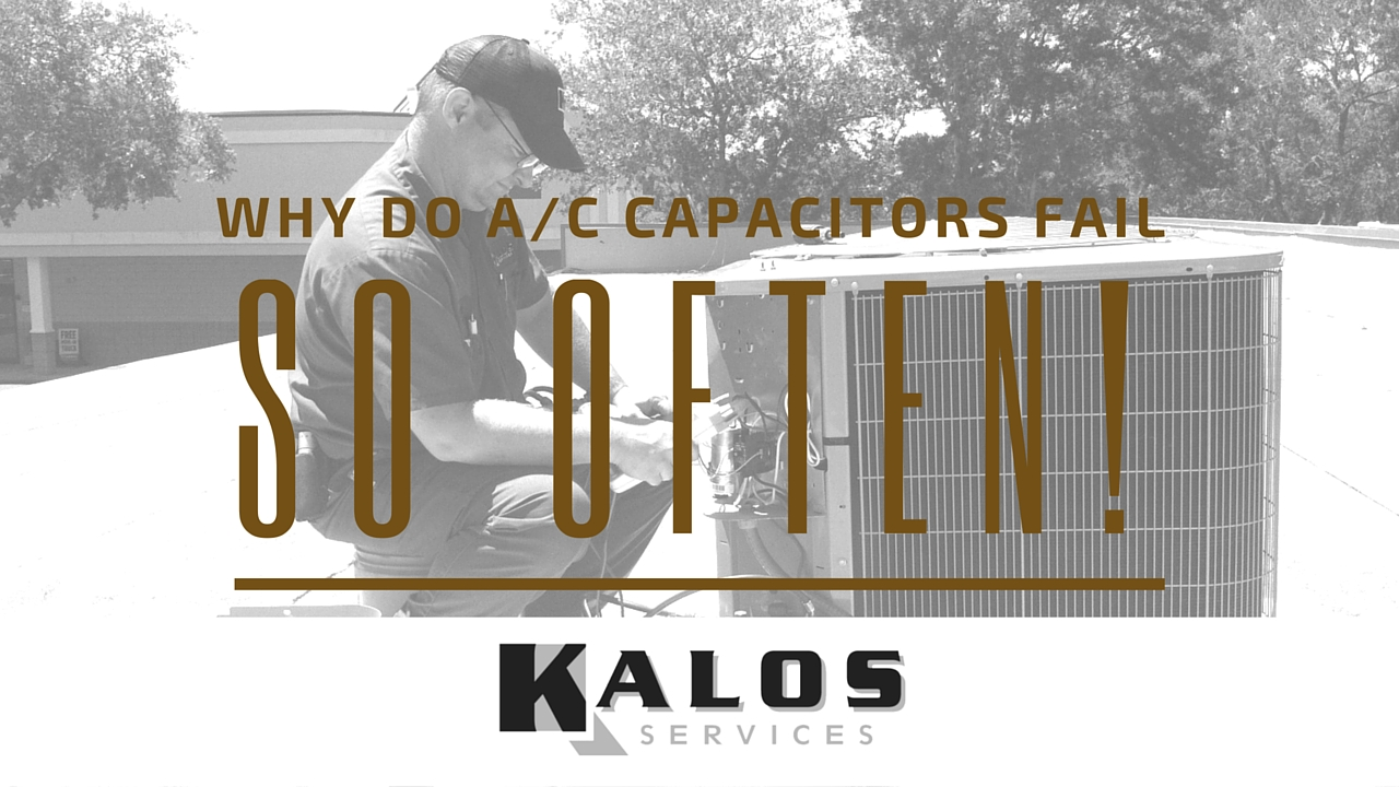 What Is An A C Capacitor And Why Do They Fail So Often Kalos Air Conditioner Dual Wiring Conditioning Capacitors
