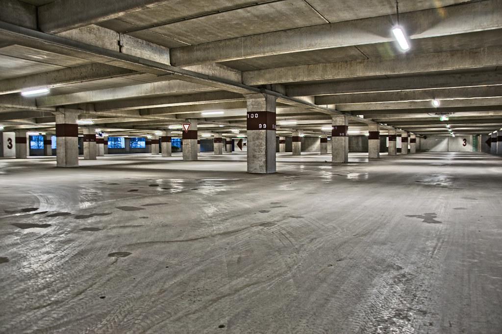 Lighting in Commercial Parking Garages